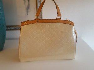 Louis Vuitton Sac blanc cassé cuir