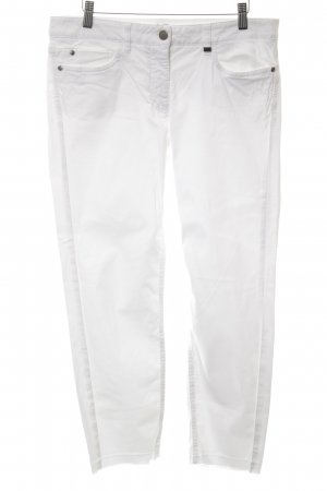 Luisa Cerano 3/4-jeans wit casual uitstraling