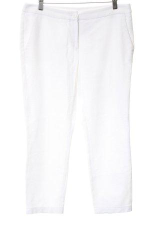 Luisa Cerano Pantalon 7/8 blanc style décontracté
