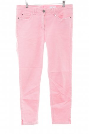 Luisa Cerano 7/8-jeans neonroos casual uitstraling