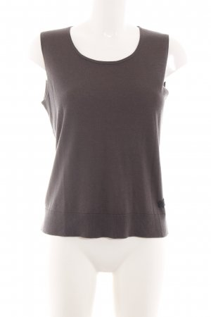 Luisa Cerano A Line Top brown business style