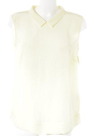 Luisa Cerano ärmellose Bluse blassgelb Elegant