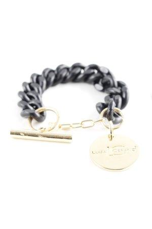 Luisa Cerano Armband schwarz-goldfarben Elegant