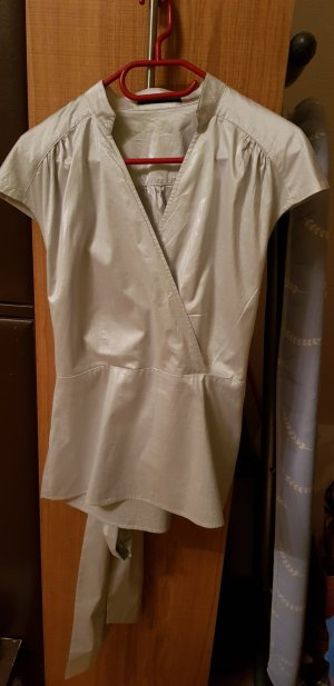Luisa Cerano Splendor Blouse silver-colored