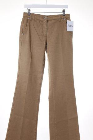 Luisa Cerano Boot Cut Jeans camel Casual-Look