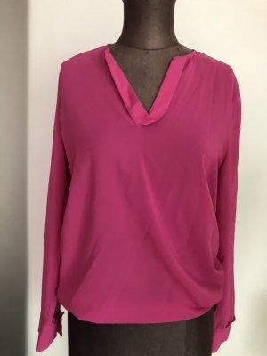 Luisa Cerano Chiffon Bluse Tunika Gr 34 36 XS S pink