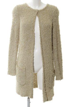 Luisa Cerano Coarse Knitted Jacket cream street-fashion look