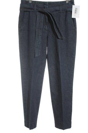 Luisa Cerano High Waist Jeans dunkelblau Street-Fashion-Look
