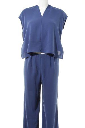Luisa Cerano Jumpsuit blauviolett Elegant