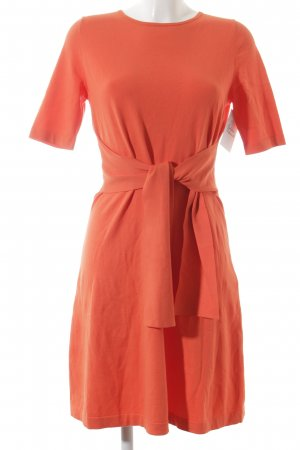 Luisa Cerano Kurzarmkleid orange