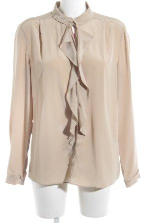 Luisa Cerano Langarm-Bluse beige Casual-Look