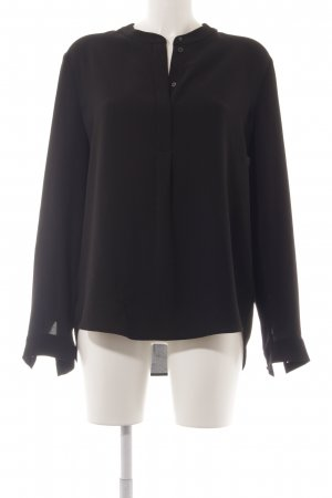Luisa Cerano Langarm-Bluse schwarz Elegant