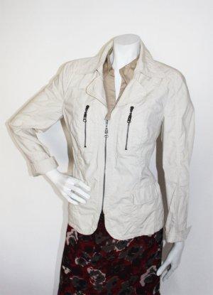 Luisa Cerano,leichte Sommer Jacke ,helles beige, Gr.40