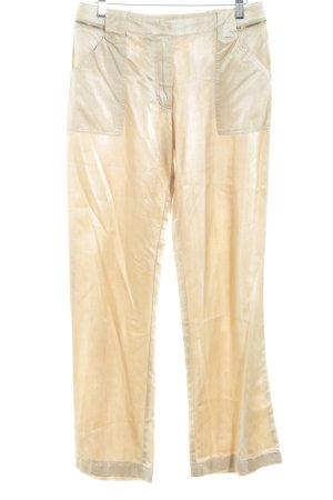 Luisa Cerano Pantalon Marlene crème-beige élégant
