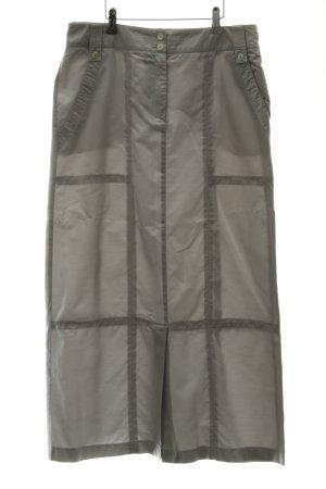 Luisa Cerano Maxi Skirt silver-colored casual look