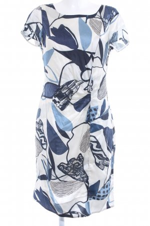 Luisa Cerano Midi Dress floral pattern classic style