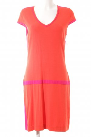 Luisa Cerano Minikleid hellrot-magenta Street-Fashion-Look
