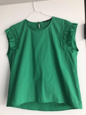 Luisa Cerano Neu Bluse in grün