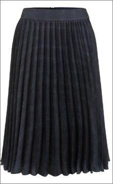 Luisa Cerano Plisseerock, dunkelblau, Größe 36 - Neu inkl. Etikett