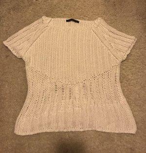 Luisa Cerano Pull en crochet blanc