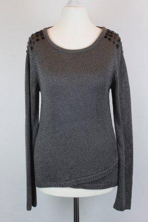 LUISA CERANO Pullover Strickpullover Gr. 36 grau (E/MF/SC)