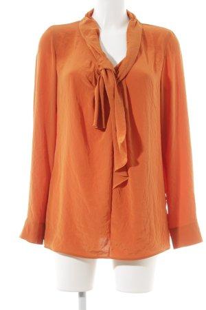 Luisa Cerano Schlupf-Bluse orange Casual-Look