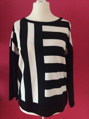 Luisa Cerano Shirt in schwarz-weiß