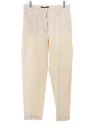 Luisa Cerano Jeans slim jaune clair style décontracté