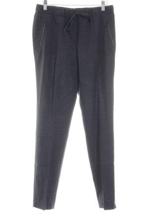 Luisa Cerano Pantalon en jersey gris foncé-gris anthracite style décontracté