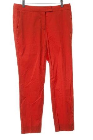 Luisa Cerano Pantalon en jersey rouge élégant