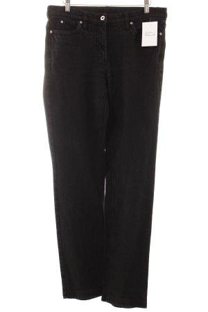 Luisa Cerano Straight-Leg Jeans schwarz Casual-Look