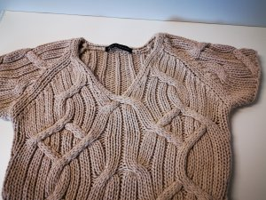 Luisa Cerano Top lavorato a maglia color carne-beige