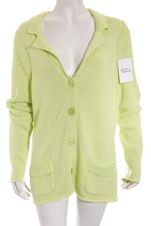 Luisa Cerano Strickbekleidung hellgrün klassischer Stil