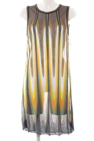 Luisa Cerano Strickkleid abstraktes Muster Casual-Look