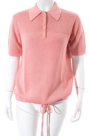 Luisa Cerano Strickshirt rosa schlichter Stil
