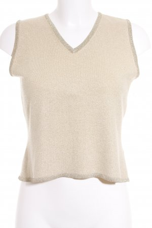 Luisa Cerano Knitted Top gold-colored-cream casual look