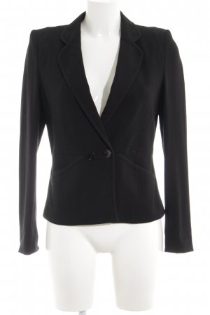 Luisa Cerano Sweatblazer schwarz Business-Look