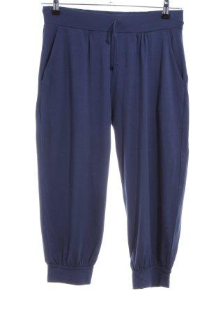 Luisa Cerano Sweat Pants blue casual look