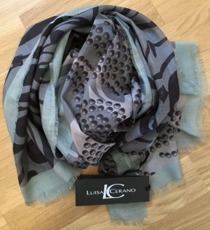Luisa Cerano Neckerchief multicolored modal fibre