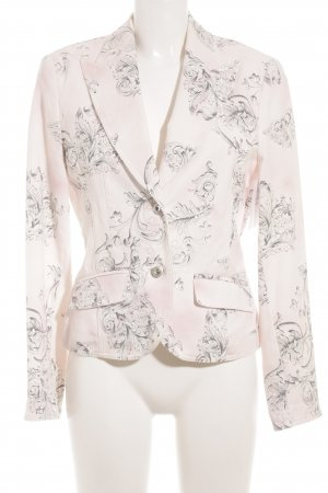 Luisa Cerano Tweedblazer florales Muster Business-Look