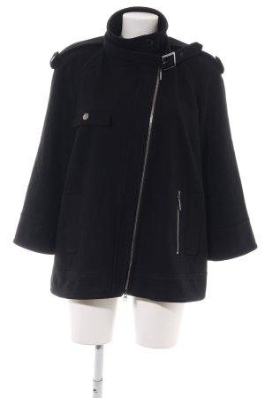 Luisa Cerano Chaqueta de lana negro look casual
