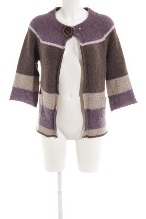 Luisa Cerano Giacca di lana motivo a righe stile casual