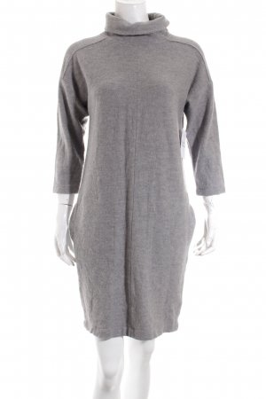 Luisa Cerano Vestido de lana gris claro mullido