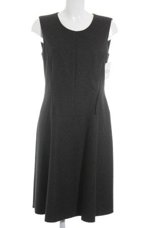 Luisa Cerano Vestito di lana nero stile da moda di strada