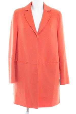 Luisa Cerano Wollmantel orange schlichter Stil