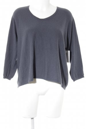 Luisa Cerano Wollpullover anthrazit Street-Fashion-Look