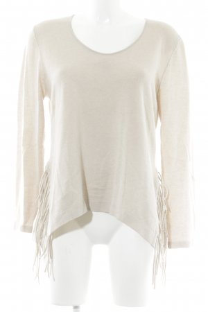 Luisa Cerano Wollpullover creme Casual-Look