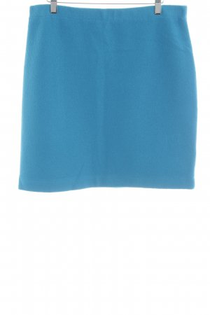 Luisa Cerano Wool Skirt neon blue fluffy