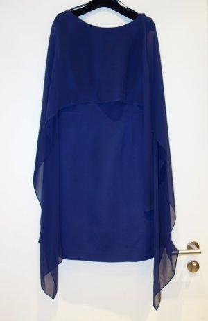 Luisa Spagnoli Vestido de cóctel azul oscuro Seda