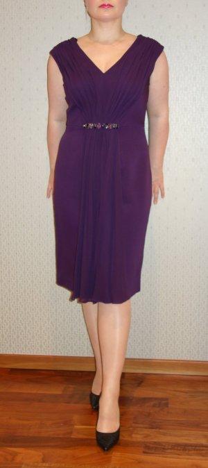 Luisa Spagnoli Vestido de cóctel violeta amarronado-púrpura